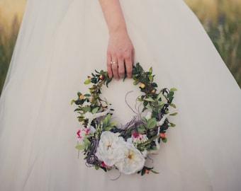 Bridal Bouquet - Wreath