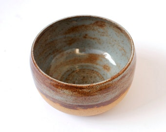 Handmade Ceramic Rustic Shino Bowl