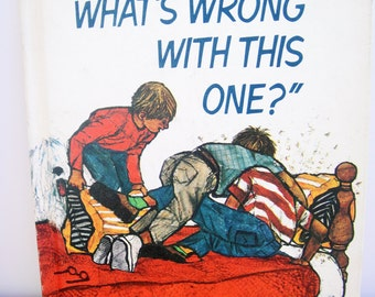 Hey What's Wrong With This One?, Books for Children, Vintage, Children's Toys,1960's