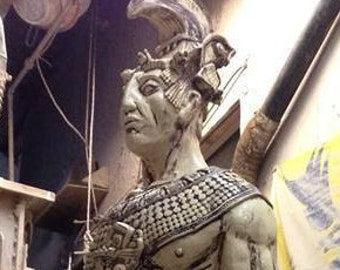 Mayan Art Sculpture Pakal the Great Arte Maya Mexico