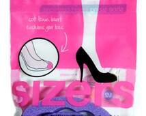Sizers Shoe Sizing Insert Cushions - Resize Your Big Shoes