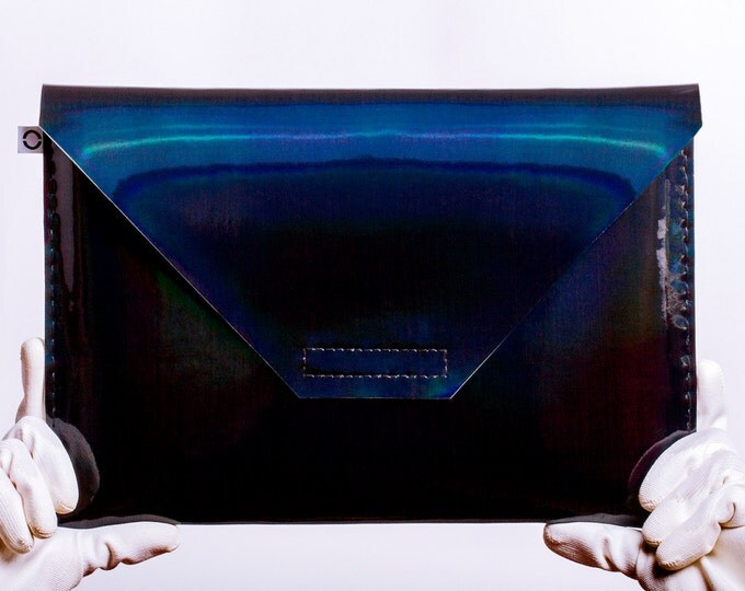 black holographic notebook case for Apple Macbook