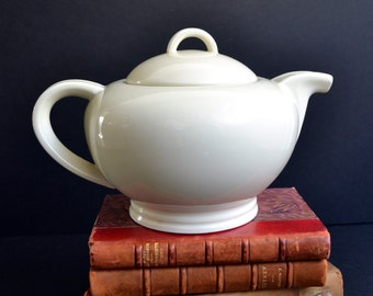 Large French Art Deco Ceramic Teapot