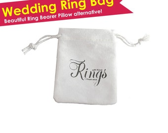 Wedding Ring Bag Personalized Ring Bag Ring Bearer Ring