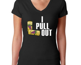 Funny Wine Shirt - I Pull Out Cork - Funny T-shirt - Wine Tee - Wine T Shirt - Wine Lover Shirt - Wine Drinker - Wine Gifts - Drinking Shirt