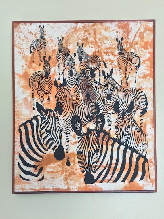 Laden Sie zebraampstars für Firefox herunter Zebra print and stars