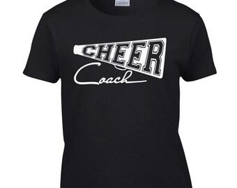 Cheer Coach Shirt / Cheer Shirt / Coach Shirt / Cheer t-shirt / Cheer Tee / Cheerleader Shirt / 355