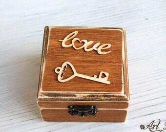 wood ring box etsy. Black Bedroom Furniture Sets. Home Design Ideas