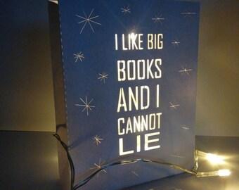 Book Lights: I like BIG books