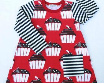 Organic Baby Dress,Organic Toddler Dress,Winter Dress,Long Sleeves Dress
