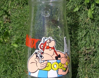 ASTERIX OBELIX Vintage Dogmatix pitcher Rare 1990 Goscinny Uderzo figurine leblon delienne CARAFE