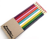 PARKS AND RECREATION pencil set - Parks and Rec quotes - Parks & Rec imprinted pencils - 9-pencil set