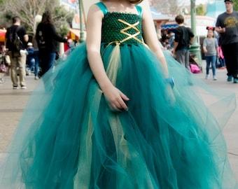 Brave Merida Inspired Tutu Dress