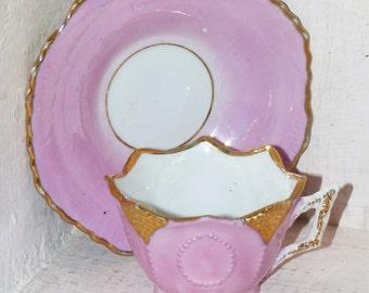 Antique Child's Teacup & Saucer - 90