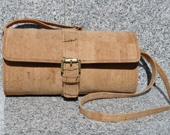 All Cork Cylinder Shoulder Bag/Handbag/Purse/Crossbody bag