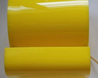 Yellow Retro Lamp 60's-70's / Vintage