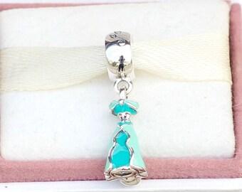 PRINCESS JASMINE DRESS,--Silver Dangle Disney Jasmine's Dress Bead #791791