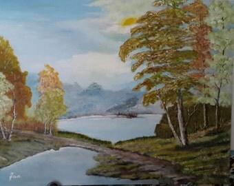 Autumn at the Lake.