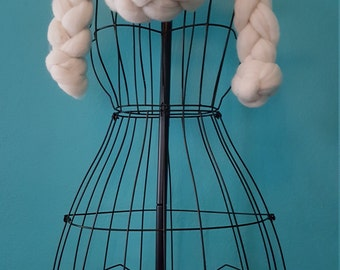 Super chunky scarf. 19 microns merino wool.