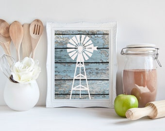 Windmill Wall Art windmill wall decor | etsy