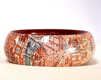 Bangles PARIS 1923 city map