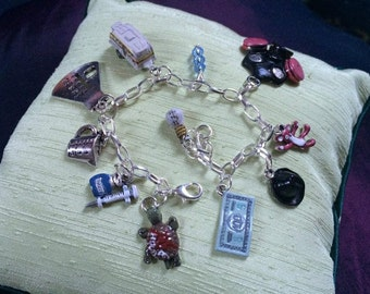 Breaking Bad Inspired Charm Bracelet