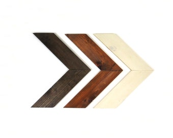 Wood Arrow, Chevron Wood Arrow, Wood Arrow Sign, Arrow, Wood Sign, Wood Arrow Set, Arrow Set Wood, Painted Wood Arrow