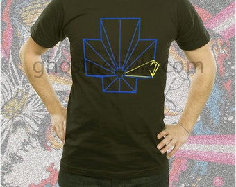 Tempest Vector Arcade Shirt Blk and Navy