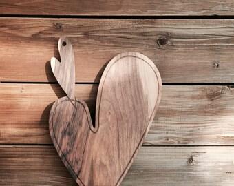 Cutting board Heart