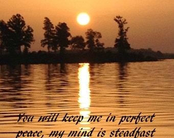 Peace at sunrise