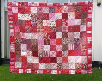 Just a red quilt