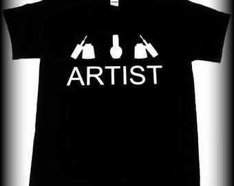 Nail Tech Gifft, Nail Technician tshirt, Nail Artist tshirt, Nail tech, Nail tech shirt, Nail Polish shirt, Beauty shirt, S, M, L, XL