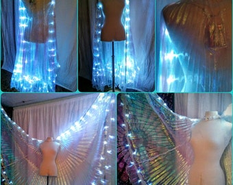 CUSTOM chevron LED isis wings *please read item details