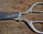 Ornate Eversharp Forged Steel Scissors