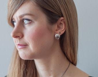 Coniferous stud earrings