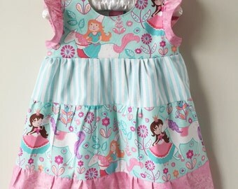 Princess and Unicorn infant/toddler dress sizes 6 mos - 24 mos