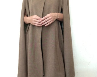 Hooded Cape - fully lined