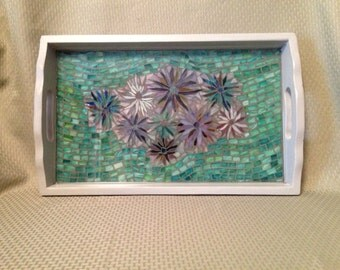 Mosaic Stained Glass tray
