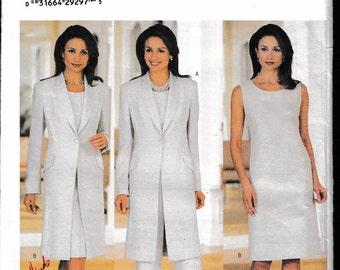 Butterick 6001  Misses' Misses-Petite Jacket, Dress, Top and Pants David Warren