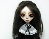 SALE Handmade Collectible Unique -OOAK- Art doll- Clay Jointed - Zyana