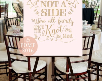 Wedding Ceremony Welcome Sign -- Digital Printable File, INSTANT DOWNLOAD, Seating, Calligraphy, Hand Drawn, Blush Pink, Gold, Ballet