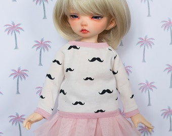 Moustache ~ Sweater for LittleFee