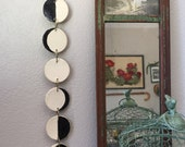 Moon Phases Ceramic Wall Hanging