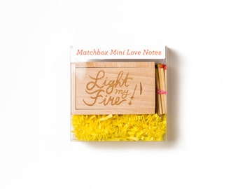 Light My Fire Matchbox Mini Love Notes Box Set