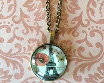 SALE - CLEARANCE - Paris Jewelry - Paris Necklace - Eiffel Tower Necklace - Eiffel Tower Jewelry - Eiffel Tower - Romantic Gifts - Necklace