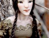 Briza Faun Girl - Art Doll - Ooak - Nigrica Art Doll