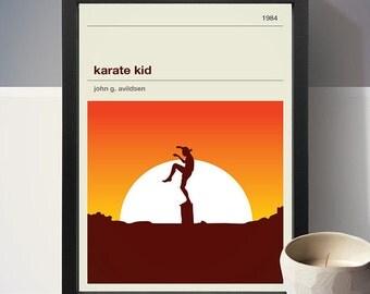 Karate Kid Movie Poster, Movie Print, Film Poster