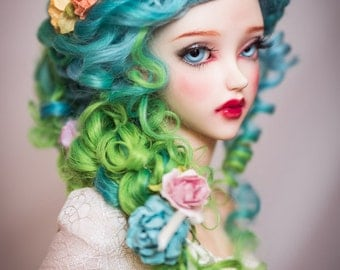 Secret Garden (natural masham wig for bjd SD, MSD, Tiny, Fashion)
