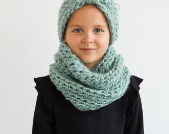 Kid's Mint Turban Soft Headband
