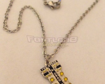 Drag Tree Staging Light Charm Necklace- Racing Jewelry by Fastlane Jewelry